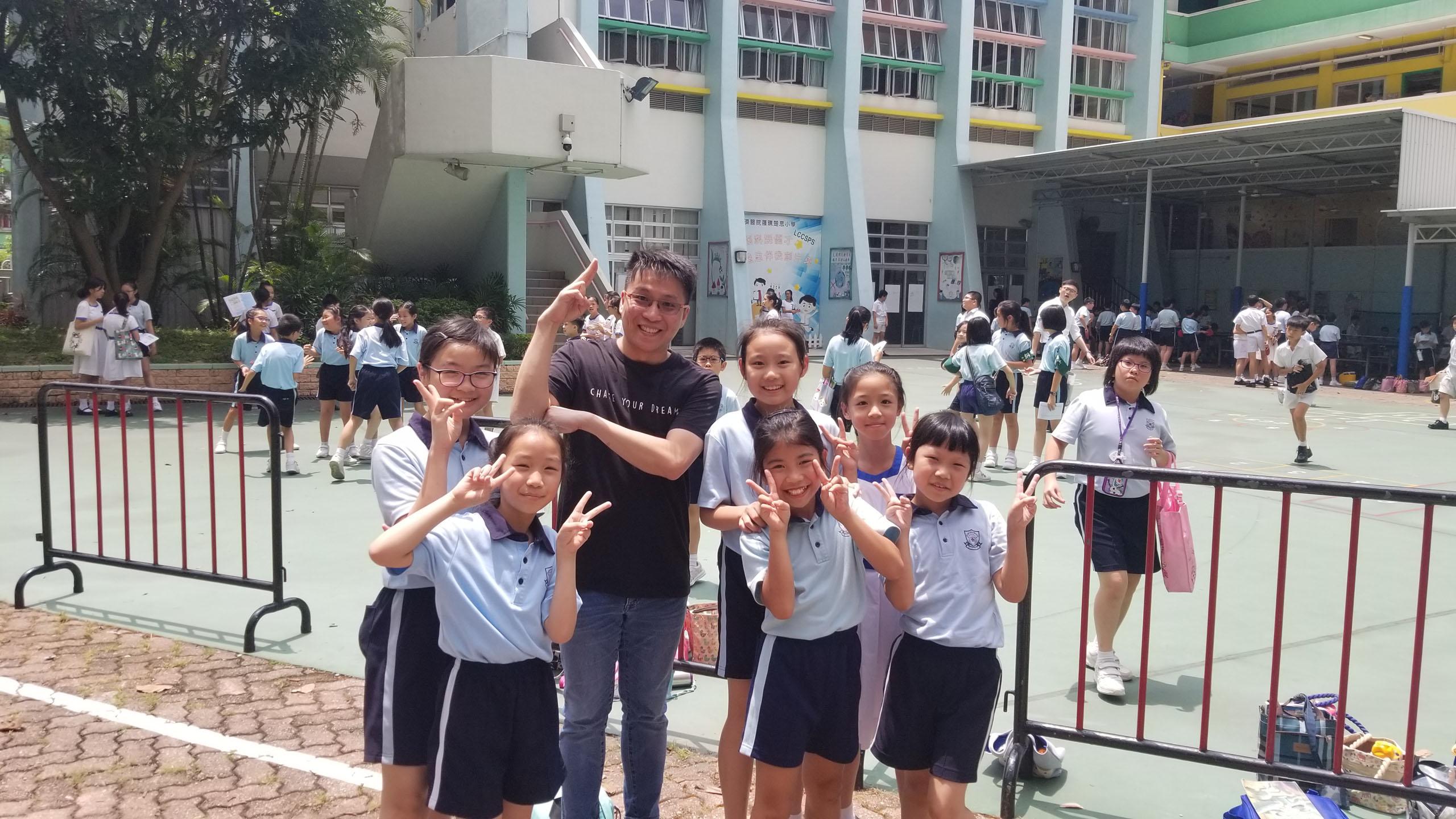 邀請STEM SIR訪校與同學分享STEM教學