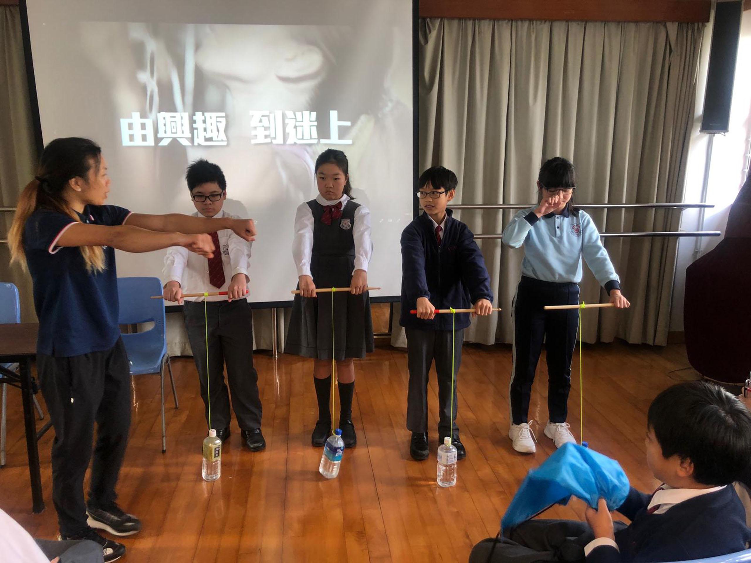 「奧林匹克教育計劃」講座