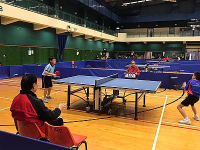 屯門區小學校際乒乓球比賽2019
