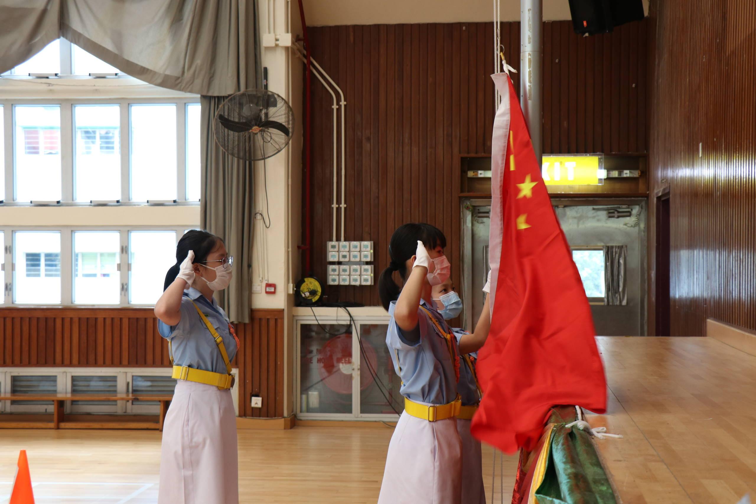 國慶升旗禮21-22